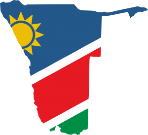 Namibia Flag Printhoek 3D Printing