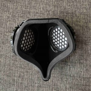 3D printed Covid 19 Mask, 2 filters